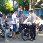 Hari Pertama Ops Zebra: 30 Pengendara Ditilang di Luwu, Palopo 57