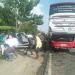 Bus Borlindo Versus Toyota Rush di Luwu, Lima Korban Dilarikan ke Rumah Sakit