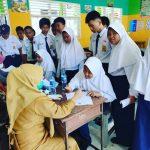 Beri Edukasi Kesehatan dan Kebersihan Lingkungan, SMPN 3 Palopo Dikunjungi Tim Labkesda Dinkes
