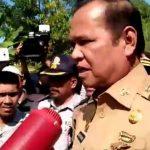Gubernur dan Bupati Luwu Diadang Mahasiswa, Basmin: Saya Deklarator Luwu Tengah, Itu Utang Saya!