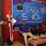 BNN Gelar Talkshow P4GN, Wawali: Cinta Kota Palopo Berarti Harus Jaga Anak Kita dari Narkoba!