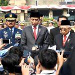 Presiden Jokowi Pimpin Peringatan Hari Pahlawan di TMP Kalibata