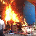 Sekretariat Mapala UMI Ludes Terbakar Diserang OTK