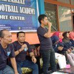 Hadiri Syukuran Yayasan Duta Olahraga Palopo, Irvan Majid Sumbang Bola