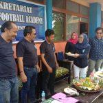 Tempati Sekretariat Baru, Yayasan Duta Olahraga Palopo Gelar Syukuran
