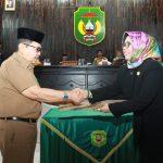 Rapat Paripurna Propemperda, Judas Amir Sampaikan Pesan Presiden Jokowi