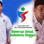 Puncak HKN di Torut, Palopo Optimis Juara Umum