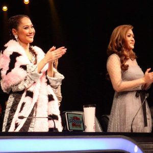 Bunga Citra Lestari dan Maya standing ovation untuk Ainun