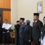 Dua Pejabat Pemprov Sulsel Dilantik, Andi Arwin Azis Tukar Tempat