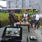 Ketua PWI dan JOIN Palopo Bincangkan Kebebasan Pers di Ratona TV