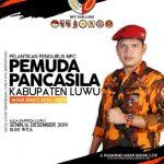 Dilantik 16 Desember, Ahkam Basmin Sebut Pengurus MPC Pemuda Pancasila Luwu Sangat Paripurna