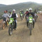 Bupati Lutra Ngetrail Tinjau Proyek Jalan ke Seko